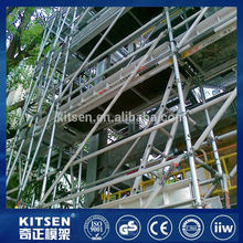 High Quality Test Strength Heavy Duty Ringlock Scaffolding For Outside building