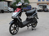 electric moped with green power and beautiful appearance with hide battery