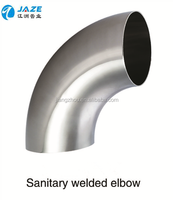 Sanitary elbow stainless steel pipe fitting