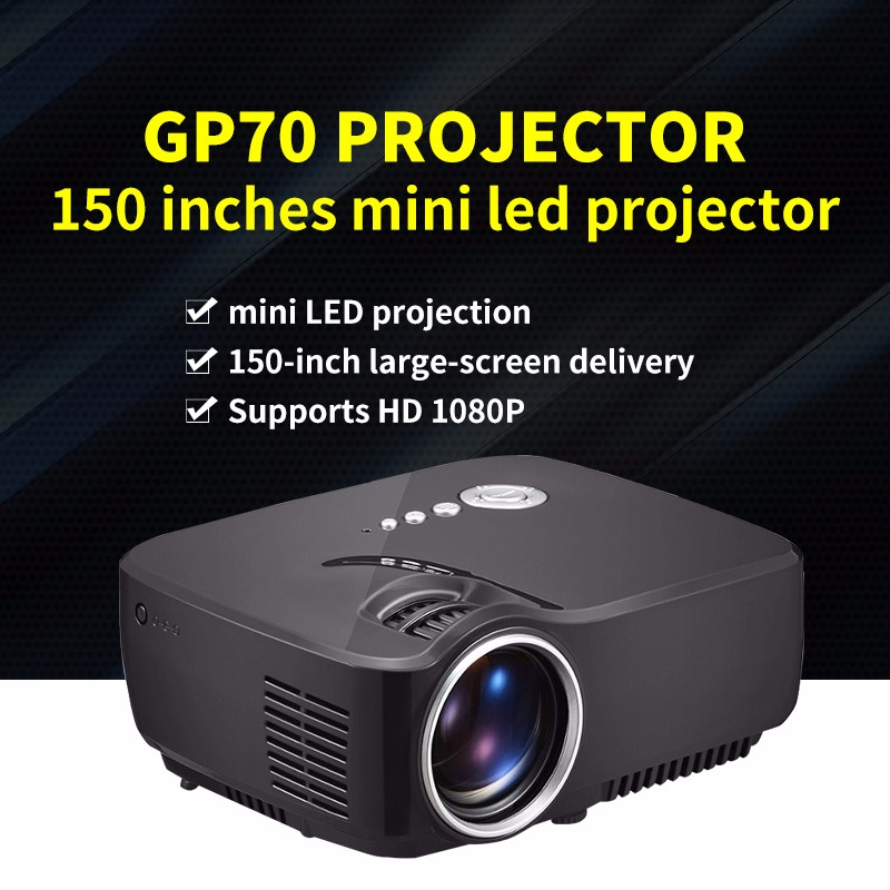 GP70 <strong>projector</strong> image 150 inches best user home mini led <strong>projector</strong>
