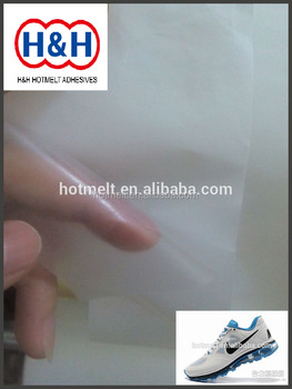 TPU 25micros Hot Melt Adhesive Film for shoes