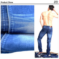 Waterproof Breathable Elastic Force 11.7oz denim 75 polyester 25 cotton fabric