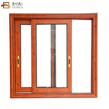 Accept custom apartment aluminum champagne color aluminum frameless glass sliding windows