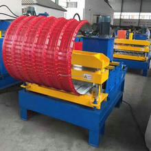 Hot Sale Galvanized Profile Roof Crimping Cold Roll Forming Machine