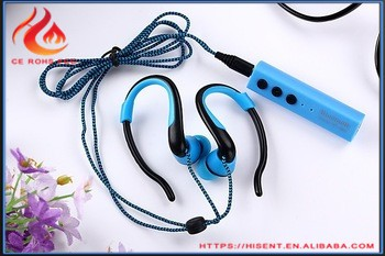 High Quality sports earphone cover with call recording