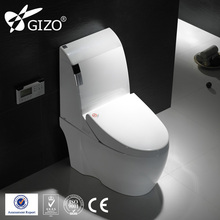 Siphonic One Piece Toilet Bowl with Smart good quality ceramics toilet