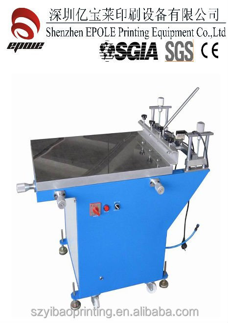 Manual Screen Printing Table with suction