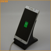 2016 Hot LED Desk lamp with QI Standard Wireless charger for samsung galaxy Note7 wireless charging pad 5V 1A