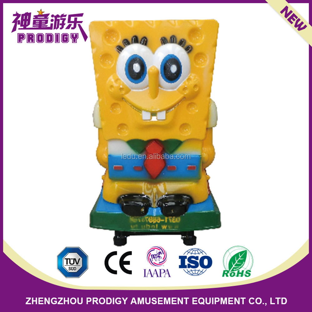 coin operated spongebob kids rocking rider