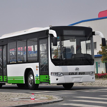 11 meters 30 - 40 seater CNG city bus color design