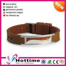 2015 Top Sale Magnetic Wrist Fitness Rubber Band