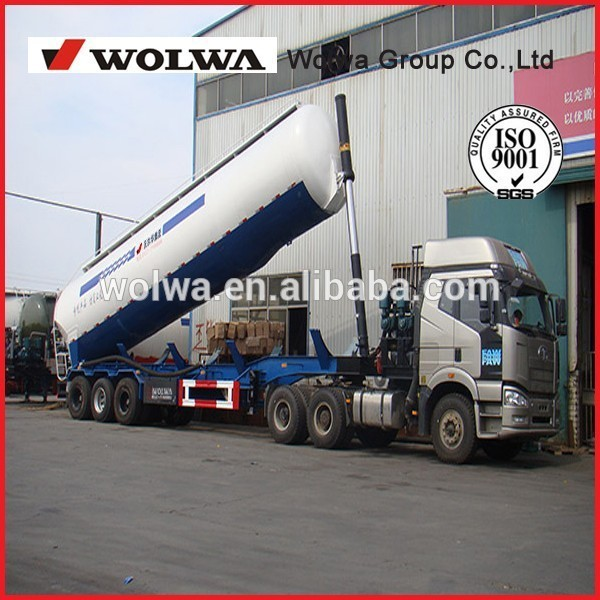 Low density Bulk Cement Powder Transport Truck for transportation of powder and particle material