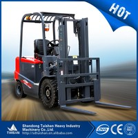 3ton china well made heavy duty lifter, electric forklift truck for sale