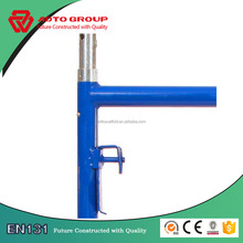 Durable V-lock Style Walk Through Steel Scaffolding Frames Includes Coupling Pins
