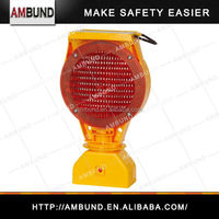 Popular remote controlled warning light for traffic safety and warning application with solar energy