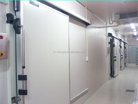 automatic/manual sliding door for cold room