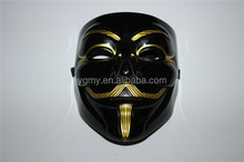 V Vendetta Anonymous Movie Guy Fawkes Vendetta Mask Halloween Cosplay Party Masks black