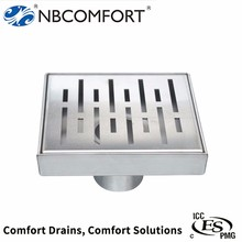 Competitive price stainless steel 304/316 6 floor drain covers