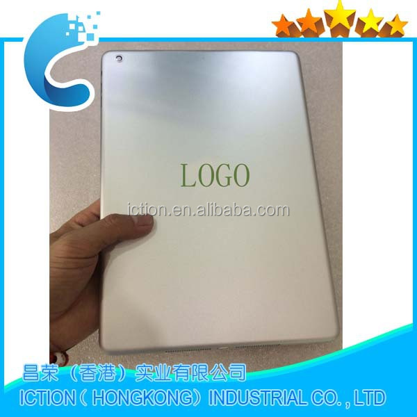 Battery Door Back Rear Housing Cover Case Replacement For Apple iPad Air 5 A1475 4G Version with logo