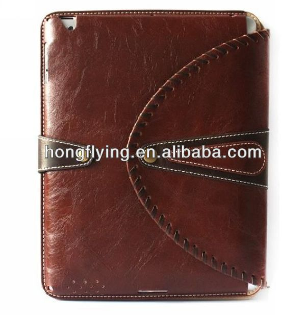 2014 the Luxury Leather Smart Case Stand Cover for Apple ipad mini New ipad 2/3/4
