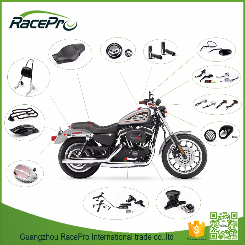 Aftermarket Custom Motorcycle Accessories Parts for Harley Davidson Sportster 883 1200 models