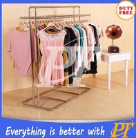 Boutique display rack clothing store boutique rack