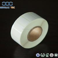 Blank Adhesive Thermal Label Sticker Paper Roll for Barcode Printing Machine