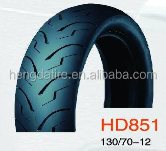 Motorcycle Tubeless Tire, 130/60-13, 130/70-12, 120/70-12