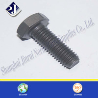 phosphate plated hex cap screw fully thread hex bolt