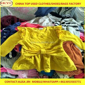 Fairly used clothes and shoes bags factory price China summer used clothing export for Africa market