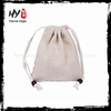 Hot selling cotton linen drawstring bag/jewelry gift pouches made in China