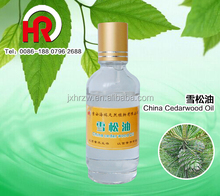 Pure cedarwood oil for Anti-inflammatory effect cedarwood state