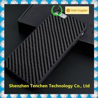 real carbon fibre hard back + tpu side for iphone smart phone cover case,luxury new coming products