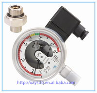 professional pressure SF6 manometer wika brand Germany Style Measuring system electric contact pressure gauge