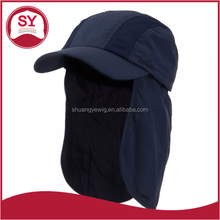 UV 50+ fitted hats cap with earflaps