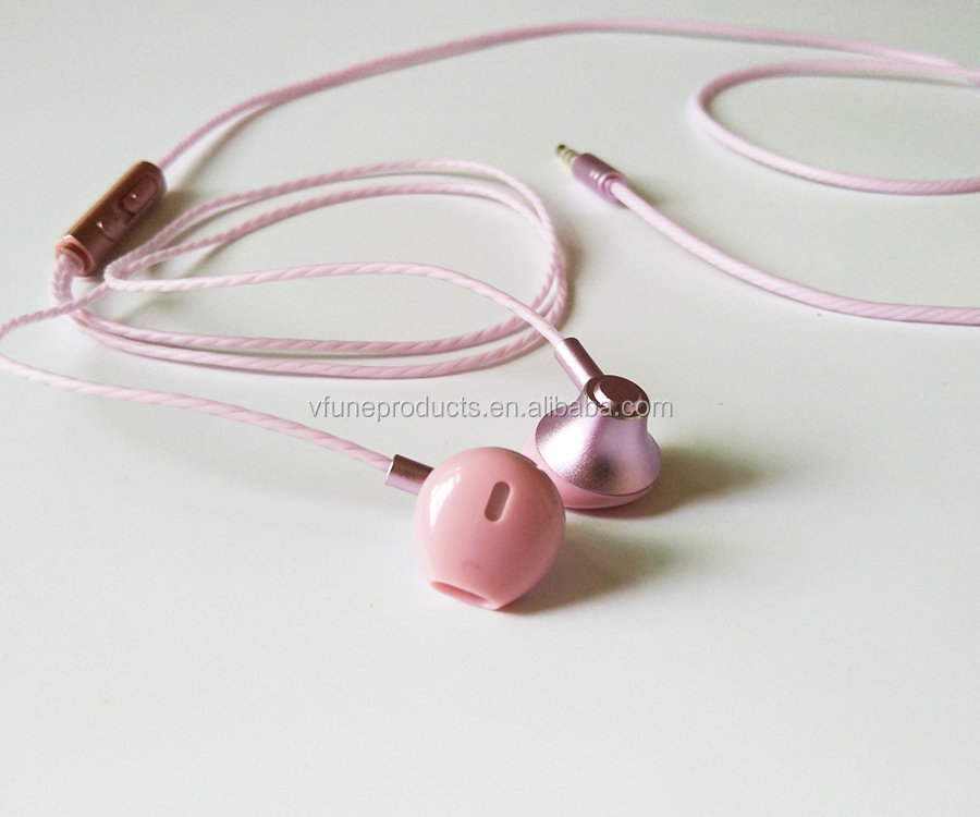 Quality Metal Earphone Handfree Earphone Headphones Earphone for Mobile Phones