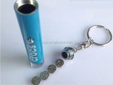 Key Chain Projector Clock Mini Keychain Light