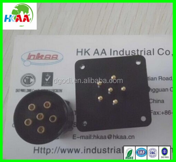 FCI male female plastic plug 10 pin connector HCCPHPE24BKA90F