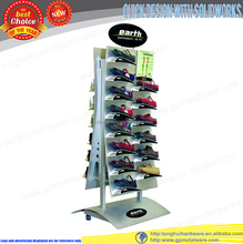 customized metal sport shoes display rack