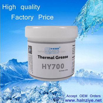 silver thermal paste HY710 silicone grease/conductive compound with great performance for cpu cooler