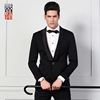 High Quality 100% Wool Shawl Lapel Mens Dinner Suit Tuxedo