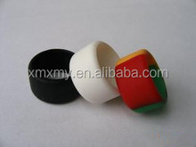 Custom silicone rubber finger ring silicone finger ring for promotion gift