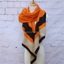 Handmade long knitted scarves 2015 winter fashion lady scarf