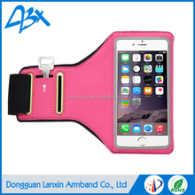 Durable high quality sport running armband cell phone case, for Samsung Galaxy s3 case with Key Holder and Card Slot;Pink color