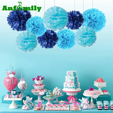 Honeycomb Paper Ball Flowers Wedding Wall Decorations