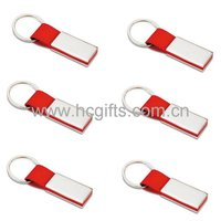 Red Leather Keychain GFT-KC020