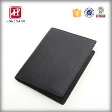 Fashion mens business card holde leather passport case 2016