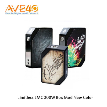 limitless LMC 200w box mod in stock , limitless 200w mod best fit Ijoy limitless Plus tank