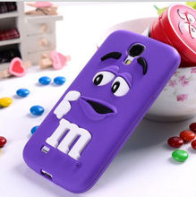 High Quality 3D Cute Rainbow Beans M$M Silicon case For iphone5g,New arrivals Lovely Chocolate For iphone 5 5G