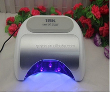 2014 new designing led unghie mini lampada led uv nail lamp for gel nail new designing